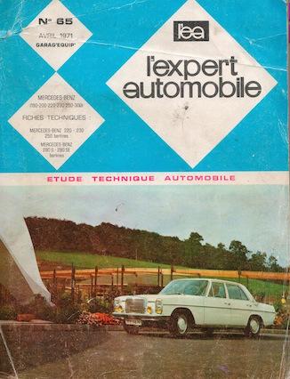 Revue Expert Automobile - Mercedes 200 /8 W115 1972 www.passionw115.fr
