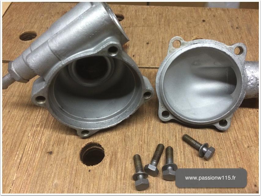 Rénovation thermostat - Mercedes 200 /8 W115