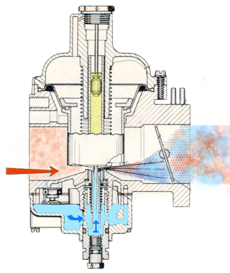 Rénovation du carburateur - Mercedes 200 /8 W115