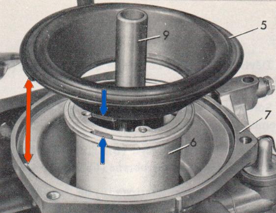 Rénovation du carburateur - Mercedes 200 /8 W115 1972 www.passionw115.fr
