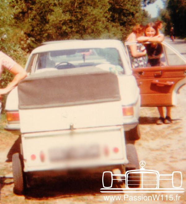 Mercedes-Benz - Mercedes 200 /8 W115 1972 www.passionw115.fr