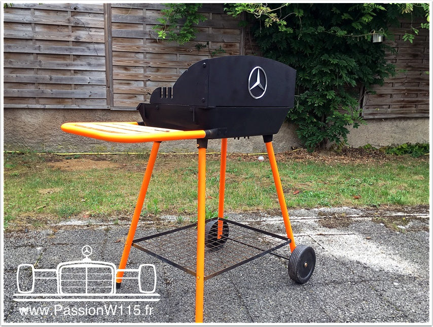 Barbecue Mercedes-Benz - www.passionw115.fr